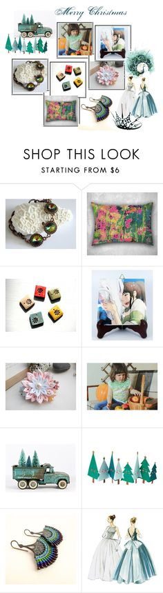 """""""❅ Merry Christmas ❅"""" by oxysfinecrafts ❤ liked on Polyvore featuring Meri Meri"""