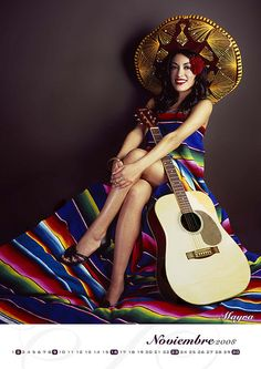 Mexicana...I totally want to take a pic like this!!