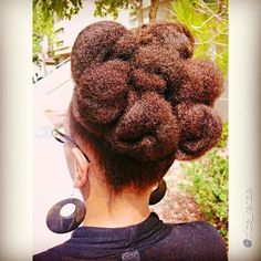 Natural Hair | Up-do
