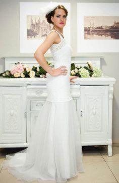 The Crocheted Wedding Dress  | OneWed