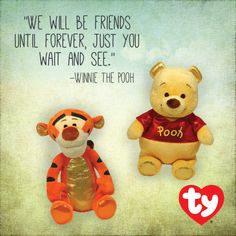 Winnie the Pooh and Tigger too! Ty Inc. Beanie Babies 1b8974a6f9f