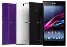The three colors on Sony Xperia Z Ultra... http://reportamanian.blogspot.gr/2013/06/sony-xperia-z-ultra-with-644-inch.html