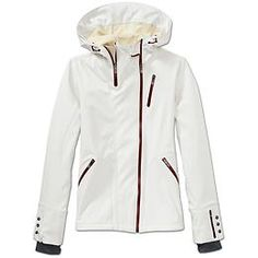 Off set zipper and button details on sleeves  Dolomite Jacket | Athleta