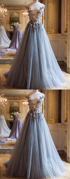 Appliques Prom Dress,Long Prom Dresses,Charming Prom Dresses,Evening Dress, Prom Gowns, Formal Women Dress,prom dress