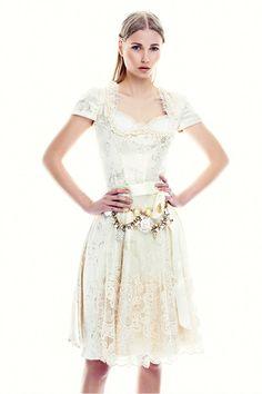 Ophelia Blaimer - Couture - Dirndl - My Precious - White Sapphire