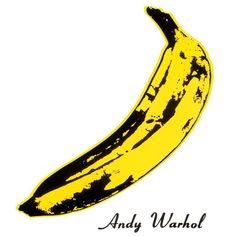 """Andy Warhol / The Velvet Underground and Nico / Silk Screen Banana Print / Pop Art"" by The Velvet Underground, Andy Warhol Pop Art, Jean Michel Basquiat, Arte Popular, Cuadros Pop Art, Andy Warhol Banana, Warhol Paintings, Pop Art Poster, James Rosenquist"