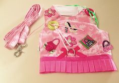 Small Shop till you Drop Dog Harness Dress + Leash-Chihuahua-Yorkie Clothes    #ChaChaCouture