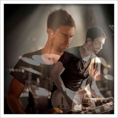Adam Levine double image