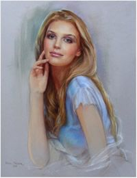 Art for sale from artist Pavel Golik - Pastel portraits to order. Pastel Portraits, Drawing Portraits, Art World, Art For Sale, Aurora Sleeping Beauty, Illustration Art, Fine Art, Drawings, Painting