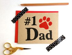 """Eco-friendly Father's Day Card. Percentage to Animal Rescue by bestinshore, $5.00 Blank inside for your personal message. Back: logo stamp. Size: A2 4.25"""" x 5.5"""" Carefully packaged in a clear sleeve and gift wrapped to ensure a safe arrival. All products are block-printed by hand. These cards are perfect for framing as a """"mini print"""" and all sales support animal rescue! https://www.etsy.com/listing/184442603/eco-friendly-fathers-day-card-percentage?ref=listing-shop-header-2"""