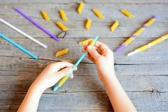 Developing Fine Motor Skills in Preschool and Kindergarten - Just Reed & Play Straw Activities, Motor Skills Activities, Fine Motor Skills, Craft Activities, Toddler Activities, Finger Strength, Improve Your Handwriting, Alphabet Cards, Video Games For Kids