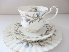 Royal Albert 1960's vintage breakfast cup by MaddyVintageHostess