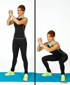 Squat Workout 318559373642467884 - fitness and exercises: Here are some examples . - Squat Workout 318559373642467884 – fitness and exercise: Here are some examples of exos and fitne - Fitness Hacks, Fitness Workouts, Fun Workouts, Exercise Routines, Daily Routines, Gym Fitness, 7 Workout, Sixpack Workout, Best Weight Loss