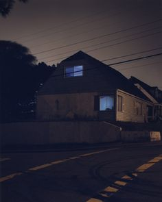 """Todd Hido """"Homes at Night"""" http://www.toddhido.com/"""