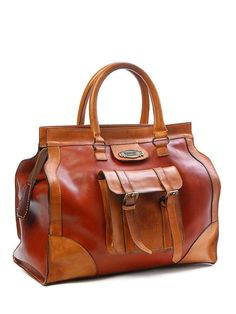 Cayman Leather Bag / Sandask