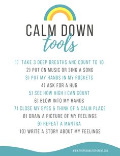 Calm down tools kids can use anywhere when they feel upset. Help kids manage their emotions with a set of calm down tools. Gentle Parenting, Kids And Parenting, Parenting Tips, Parenting Styles, Parenting Classes, Social Emotional Learning, Social Skills, Teaching Emotions, Child Life Specialist