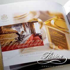 Immagine Company Profile Caffè Florian. Progetto monografico curato dall'Agenzia Pubblicitaria Holbein & Partners SRL - Venezia.