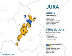 carte des vins du Jura