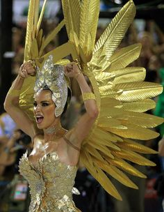 Samba CostumeYou can find Brazil carnival and more on our website. Carnival Girl, Carnival Outfits, Brazil Carnival Costume, Brazilian Carnival Costumes, Bustiers, Brazilian Samba, Caribbean Carnival, Carnival Festival, Beautiful Costumes
