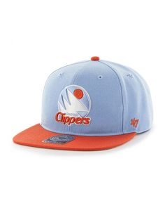 df3762b85524db NBA Los Angeles Clippers Sure Shot Two Tone '47 CAPTAIN Snapback Hat  Yankees Hat,