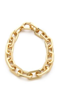 Tory Burch Heidi Chain Necklace. Been wanting a chucky chain necklace... Or more gold jewlery u^^
