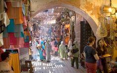Morocco markets..