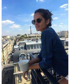 Inspiration Coiffure  :    Description   Le chignon bun d'Izabel Goulart pour chiller    - #Coiffure https://madame.tn/beaute/coiffure/inspiration-coiffure-le-chignon-bun-dizabel-goulart-pour-chiller/