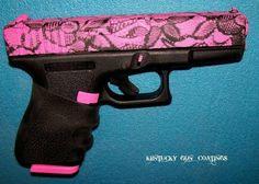 Pink lace gun