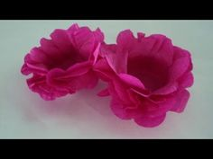 Forminha de doce de papel crepom diferente - Faça voce mesmo - YouTube