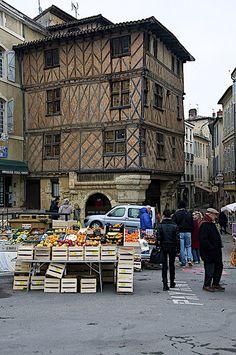 Auch, Midi-Pyrenees, France