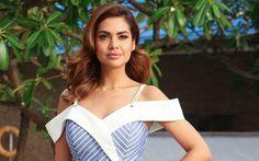 Download wallpapers Esha Gupta, 4k, Bollywood, beauty, beautiful woman, brunette