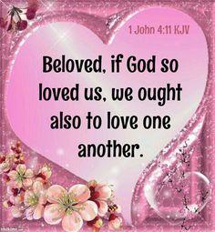 1 John 4:11 KJV