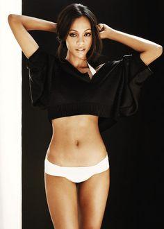 Zoe Saldana... I want to be her!