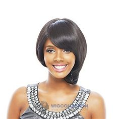 JANET COLLECTION SYNTHETIC KISS PERM SHAINA WIG
