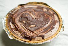 Chocolate Epiphany, Vegan Chocolate Mousse Pie.