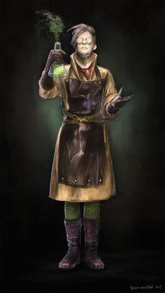 Image result for fantasy scientist