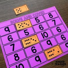 Decomposing numbers between 5 and 10 using hands-on, engaging games and activities. Students will practice decomposing a number in more than 1 way, finding the number that makes 10 and solve word problems.