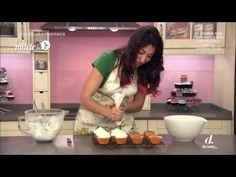 ▶ CupcakeManiacs - Cupcake de naranja y almendra - YouTube