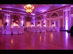 Duluth Event Lighting, up lighting at Greysolon Ballroom