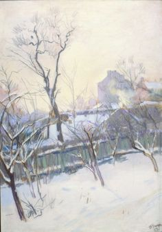 Олекса Захарчук, Україна / Oleksa Zaharchuk, Ukraine // Зимовий день.1959