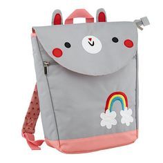 Kids will hop at the chance to carry this cute bunny backpack to school! Click above to buy one.