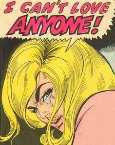 I can't love anyone
