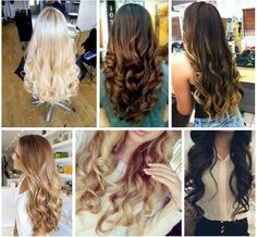 Goegeous hair curly