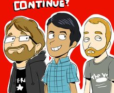 i love these guys Continueshow by RickyAlexander