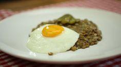 Čočka nakyselo on Vimeo Eggs, Breakfast, Recipes, Morning Coffee, Egg, Ripped Recipes, Cooking Recipes, Egg As Food