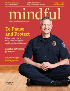 Mindful Magazine October 2013 Issue   Mindful James Gordon. steps out of depression.