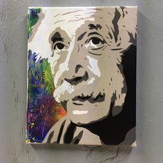Burdened with knowledge  #alberteinstein #portrait  http://ift.tt/1QzhCwi