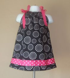 Cute little girl's dress (pillowcase).