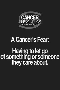 A huge fear.