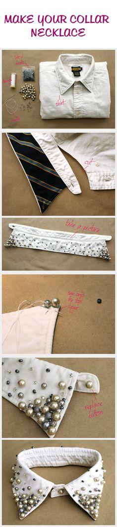Collar Necklace DIY